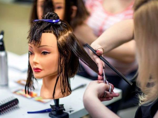 Курсы стрижки волос - отработка