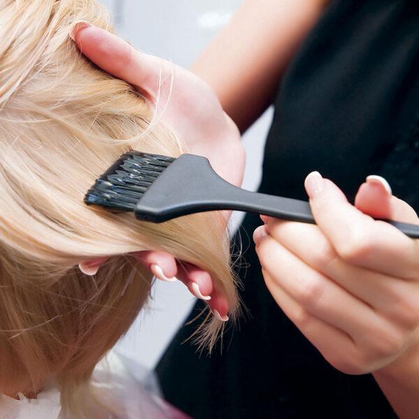 Обучение окрашиванию волос